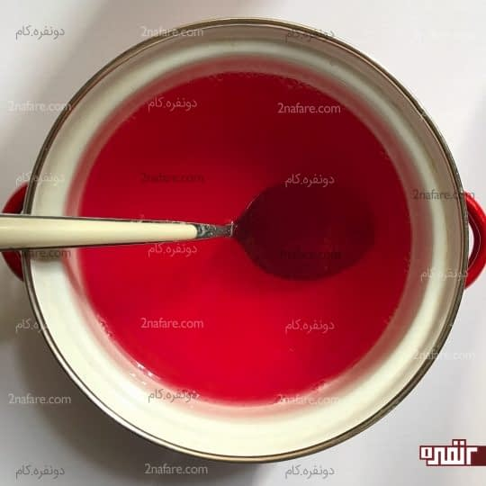اضافه کردن آب سرد