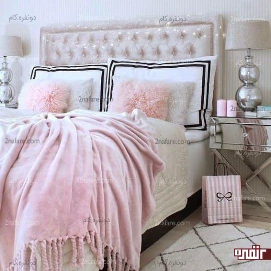 اکسسوری های مخملی و بسیار زیبا برای داشتن اتاق خوابی شیک و جذاب