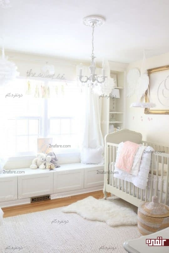 ایده های بکر و زیبا برای اتاق نوزاد