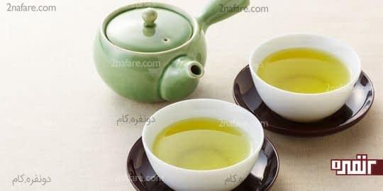 برای دم کردن چای سبز اون رو روی حرارت قرار ندین