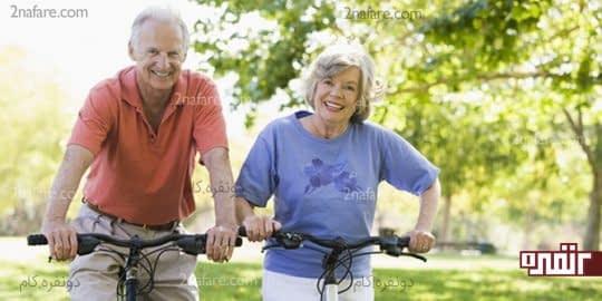 برای کاهش درد آرتروز دوچرخه سواری کنید