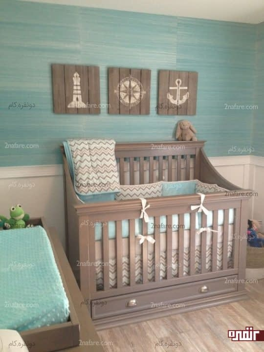 تابلوهای تزیینی اتاق نوزاد