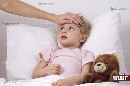 تب در کودکان و نوزادان