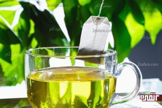 ترکیبات چای سبز کمک به استحکام ناخن
