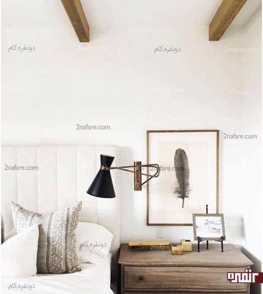 تغییر زاویه و گردش چراغ های دیواری روی پایه ها