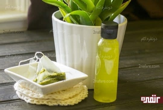 تونر چای سبز طبیعی