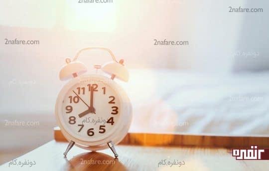خواب کافی باعث شادابی در روز
