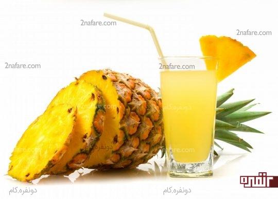 خواص مفید آناناس