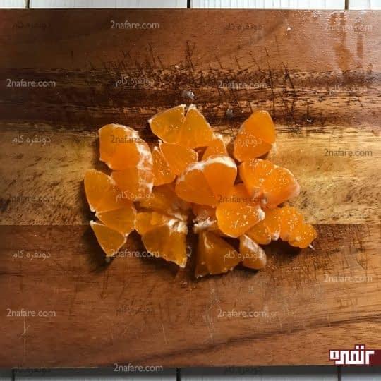 خورد کردن نارنگی