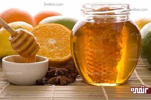 درست کردن ماسک صورت با استفاده از عسل