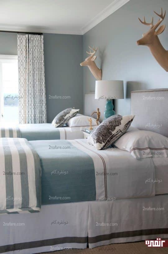 دکوراسیون اتاق خواب های دو تخته ی پسرانه