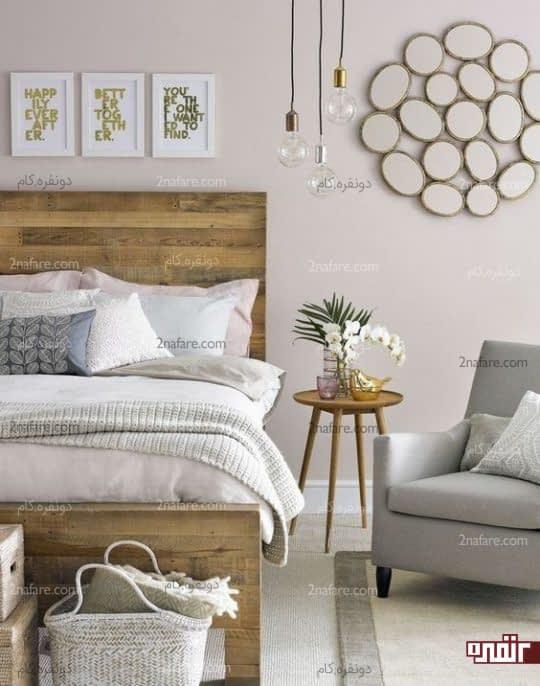دکور ساده و زیبای اتاق خواب جذاب