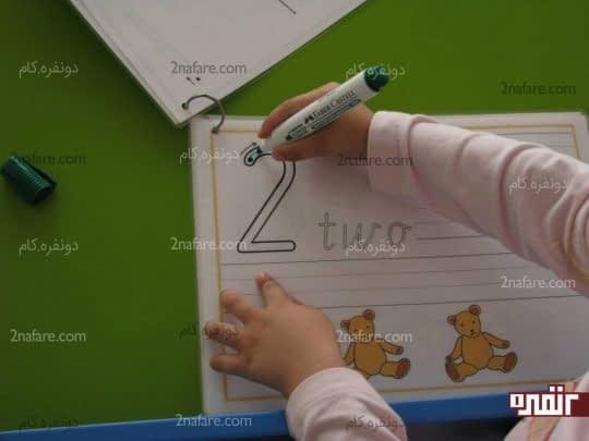 ردیابی و دنبال کردن اعداد