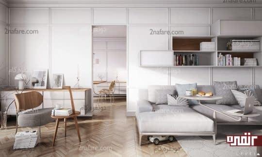 سایه های روشن رنگ خاکستری در دکوراسیون منزل