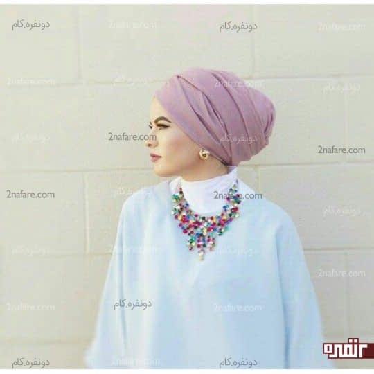 ست گردنبند بزرگ و سربند اسلامی