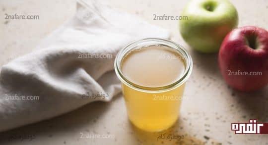 سرکه سیب مانع عفونت ناخن