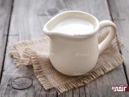 شیر پرچرب روش خانگی موثر در درمان سوختگی
