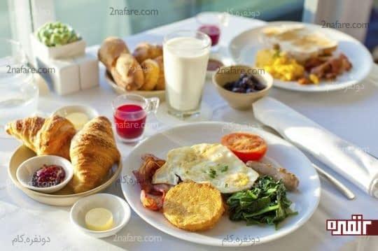 صبحانه سالم و مقوی برای داشتن یک روز عالی