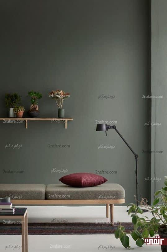 صندلی راحت و ساده به سبک مینیمال