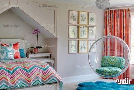 طراحی جذاب اتاق خواب