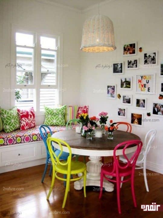 میز گرد دکوری چطور از میز گرد در دکوراسیون خونه استفاده کنیم؟ • دونفره