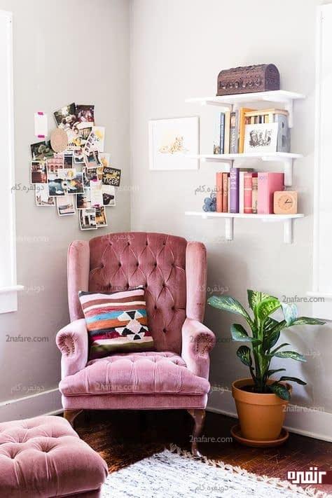 طراحی فضای مطالعه، محیط اتاق خواب رو جذاب تر میکنه