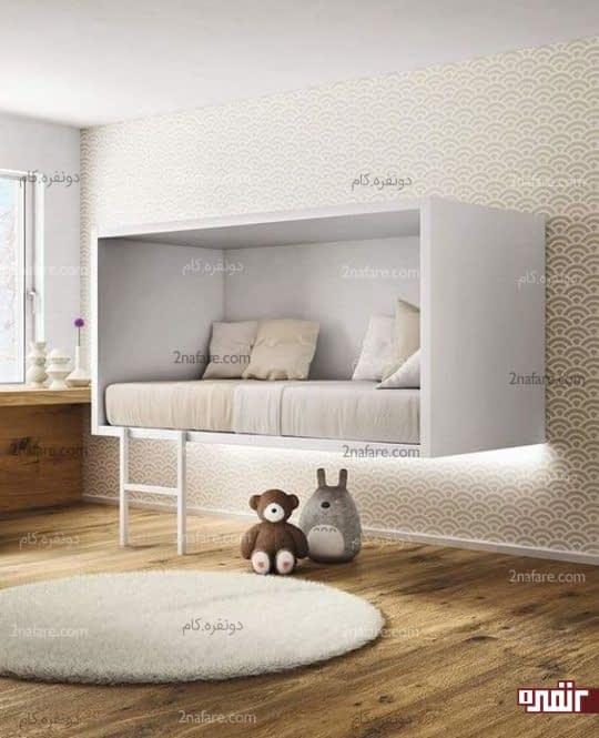 طرحی متفاوت برای اتاق کودک به سبک مینیمال