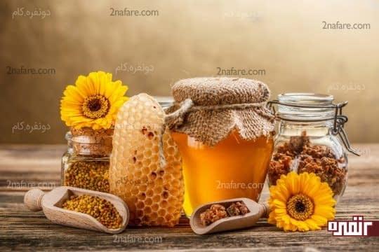عسل تسکین دهنده خارش پوست