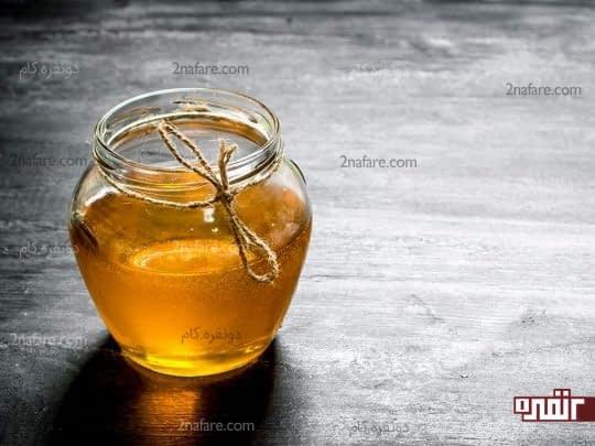 عسل ضدعفونی کننده و آرام بخش