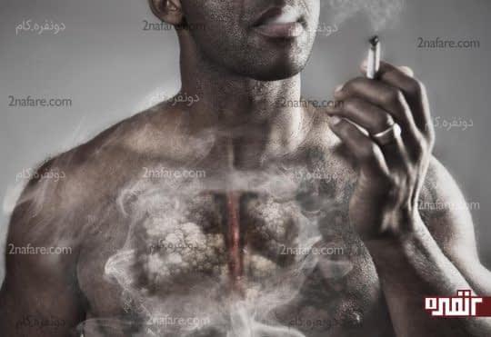 عوارض سیگار کشیدن را بگویید