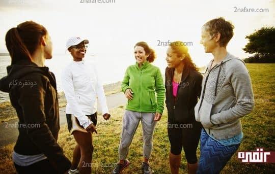 فعالیت های گروهی عامل کاهش افسردگی