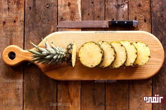 فواید آناناس برای زنان باردار
