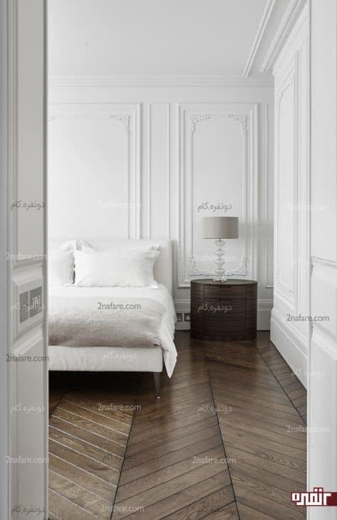 قابسازی روی دیوارهای اتاق خواب
