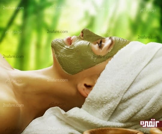 ماسک چای سبز برای داشتن پوست زیبا و لطیف