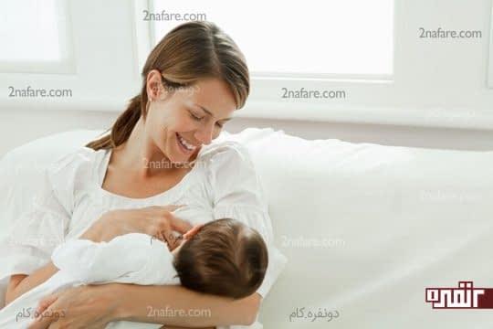 درمان برفک دهان در نوزاد