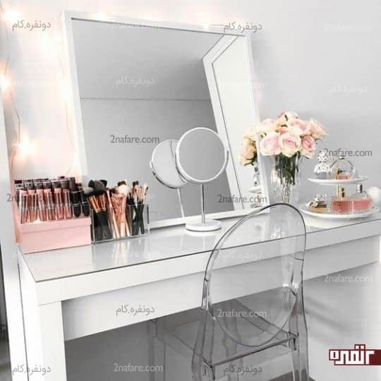 میز و آینه مدرن آرایش