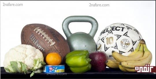نقش ورزش در کالری مورد نیاز بدن