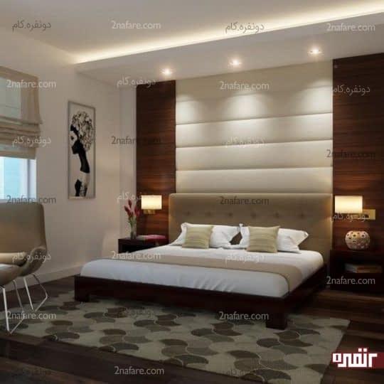 نور ملایم و مناسب اتاق خواب