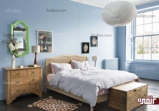 نکات مربوط به انتخاب رنگ مناسب برای اتاق خواب