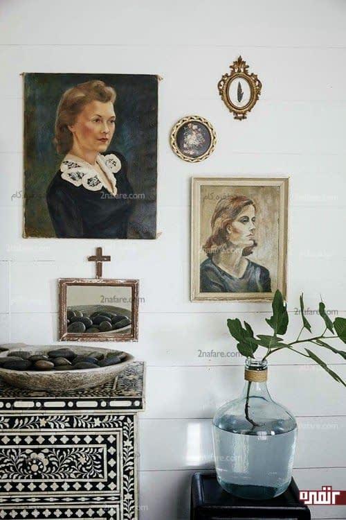 نکته های استفاده از تابلوهای نقاشی در دکوراسیون داخلی
