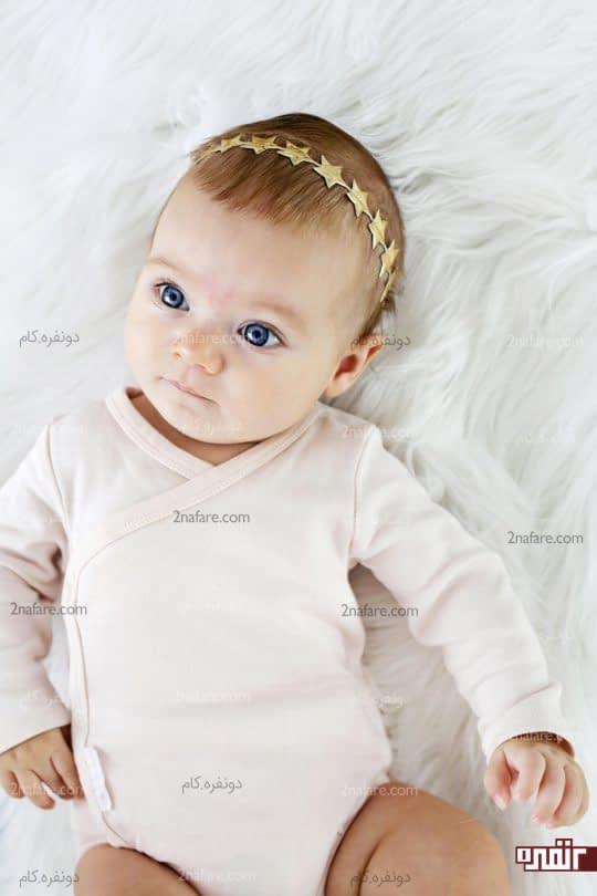هدبند نوزادی ستاره ای