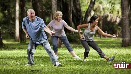 ورزش تای چی آرامبخش درد مفاصل و آرتروز
