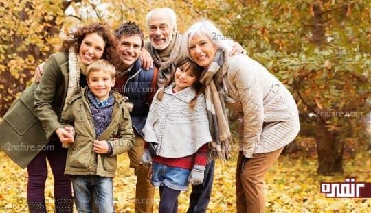 پاییزگردی با دوستان و خانواده راهی برای جلوگیری از افسردگی فصلی