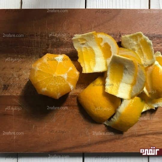 پوست کندن پرتقال