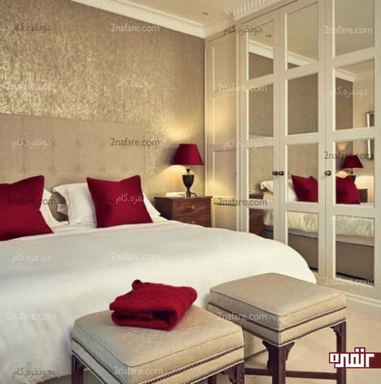 راهکارهایی برای بزرگتر نشان دادن فضای اتاق خواب