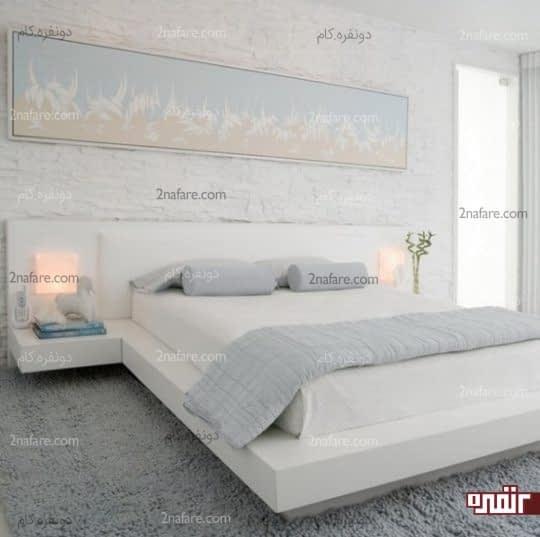 کاربرد رنگ های خنثی در اتاق خواب های کوچک