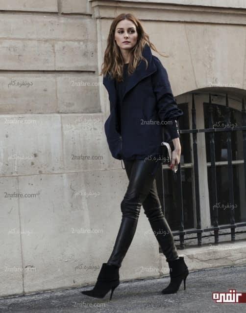 کفش پاشنه بلند نوک تیز و پنجه باریک بپوشید