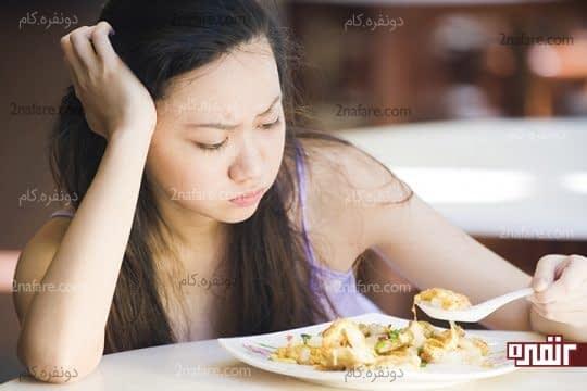 کمبود کلسیم میتونه باعث بی اشتهایی بشه