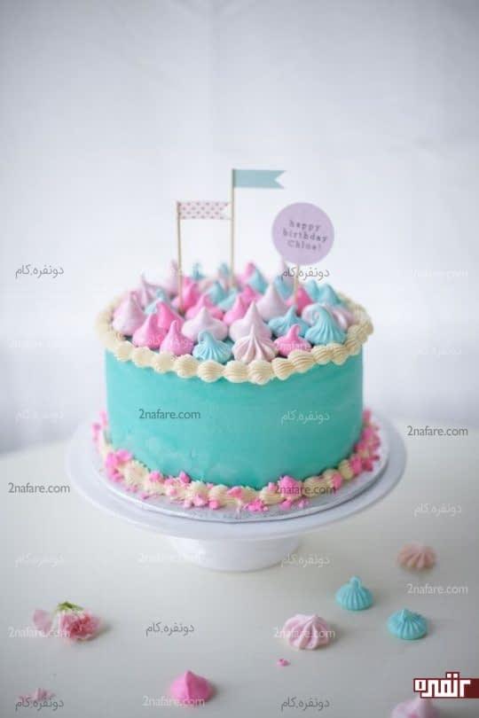 کیک تولد زیبا و شیک