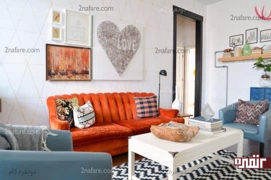 یک تابلوی نقاشی را جایگزین تابلوهای مدرن روی دیوار کنید